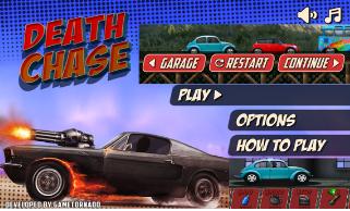 jeu Death Chase / jeu de course de voiture / la poursuite de la mort