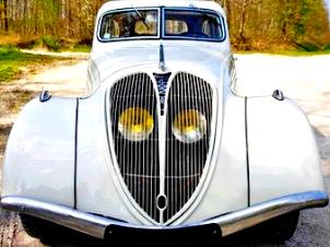 Peugeot 402 1935/42 / stubs-auto.fr / la Culture Automobile