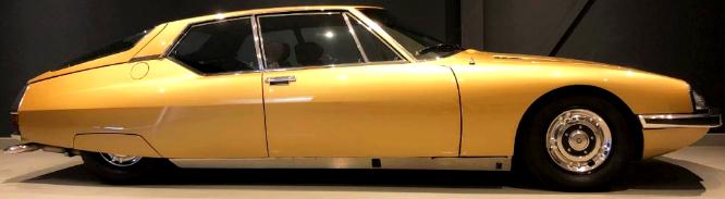 Image Citroën SM 1972 / donnée pour 228 km/h officiels, le bolide aurait souvent passé les 268 km/h / Les Anciennes.com / annonce ocasion 89 450 € / Reezocar.com