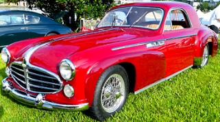 Delahaye 235 1952 par Michel Curi 2016 Lakeland Auto Festival US / clic