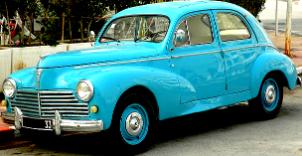 Peugeot 203 1948/60 - lautomobileancienne.com / l'après guerre