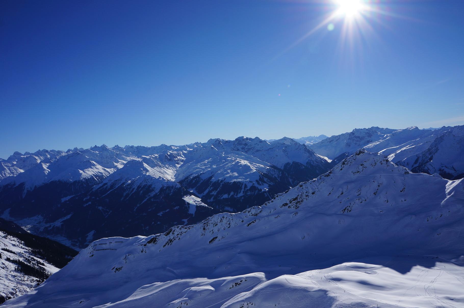Bergstation Hoch Alpila Silvretta Montafon