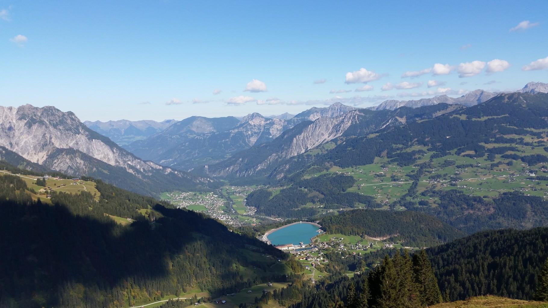 Blick nach Latschau