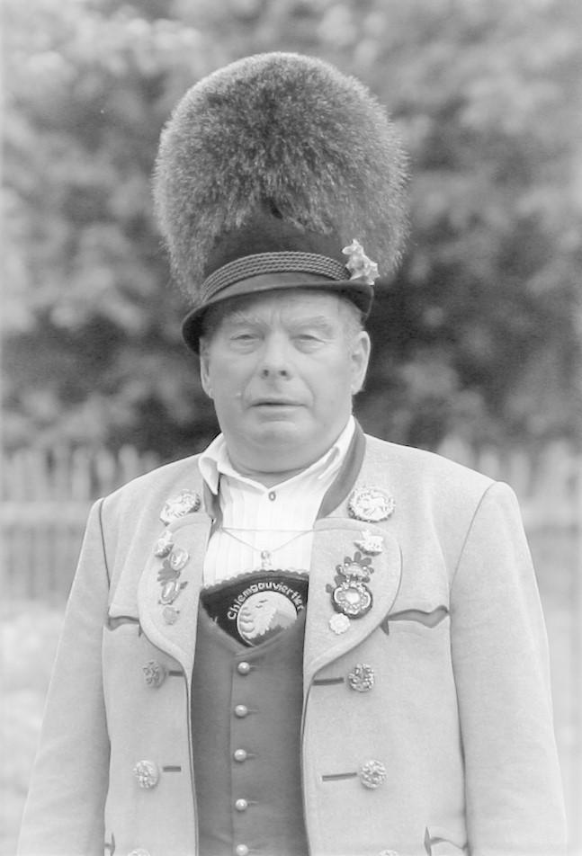 Ehrenvorstand Rupert Sonnenhuber († 20. Juni 2018)