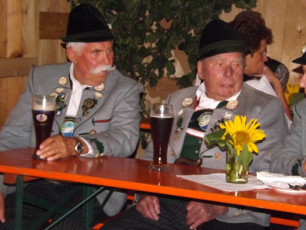 Vorgängervorstände Alois Singer und Rupert Sonnenhuber