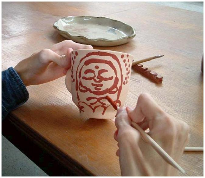 筋ジストロフィー「陶芸教室」