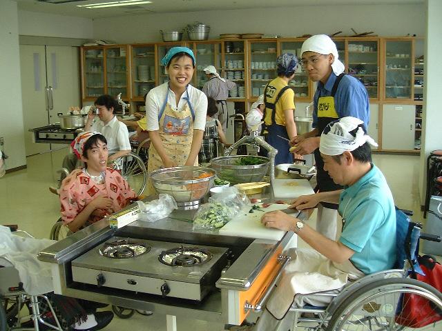 筋ジストロフィー「料理教室」