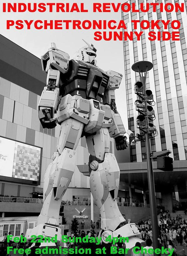 PSYCHETRONICA TOKYO SUNNY SIDE - INDUSTRIAL REVOLUTION