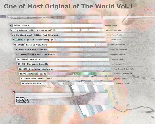 One of Most Original of The World Vol.1