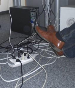 Elektrosmog vermeiden