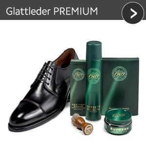 Glattleder PREMIUM - günstiges Schuhpflege Set mit Rabatt