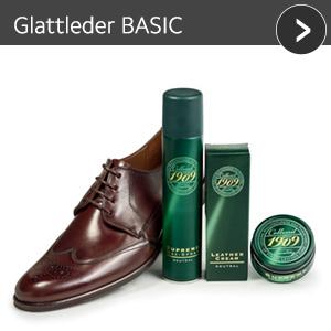 Glattleder BASIC - günstiges Schuhpflege Set mit Rabatt