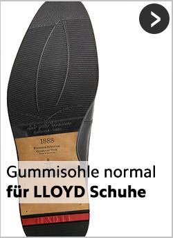Erstklassige Gummisohlen für LLOYD-Schuhe