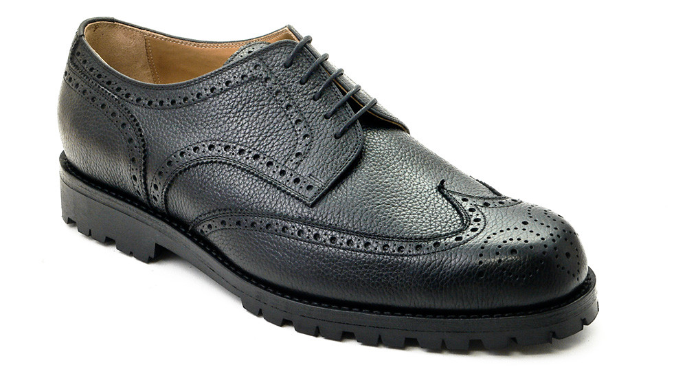 Fullbrogue Derby Scotchgrain