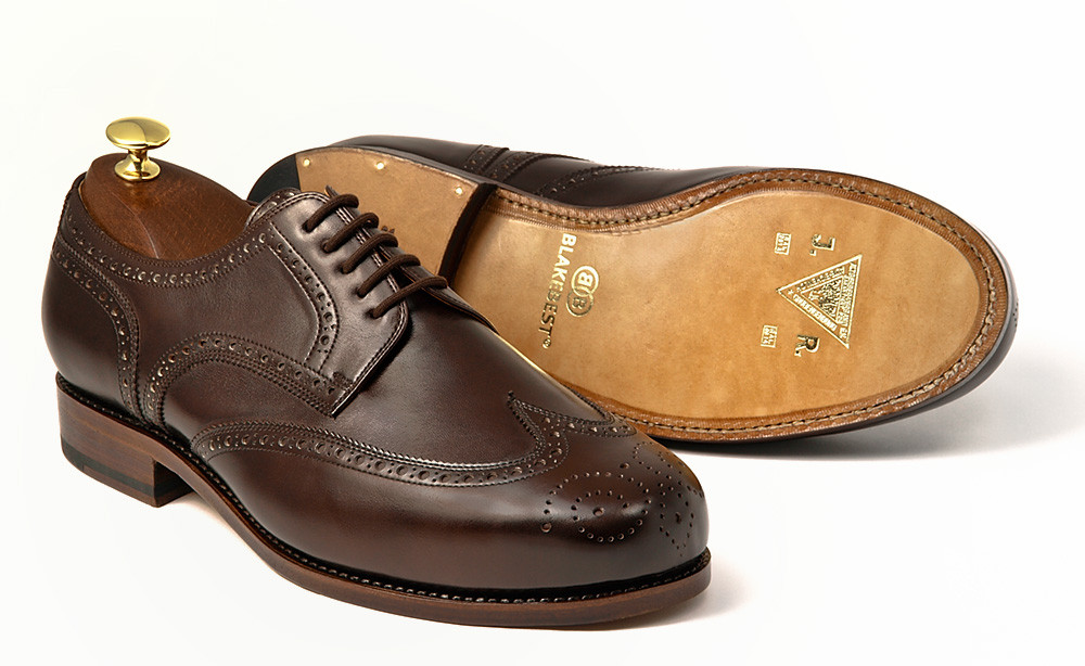 Fullbrogue Derby dunkelbraun