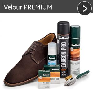 Velours PREMIUM - günstiges Schuhpflege Set mit Rabatt