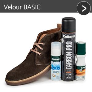 Velours COLOR - günstiges Schuhpflege Set mit Rabatt
