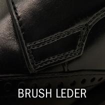 Brushleder Gedecktes Leder Ledermuster