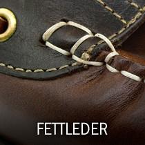 Fettleder Ledermuster