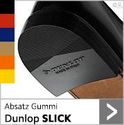 Absatz Gummi Dunlop Slick in vielen bunten Farben
