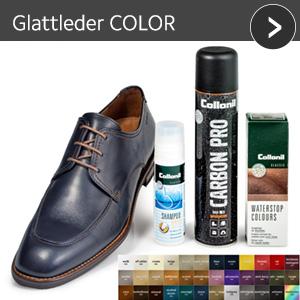 Glattleder COLOR - günstiges Schuhpflege Set mit Rabatt