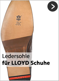 Ledersohlen für LLOYD-Schuhe