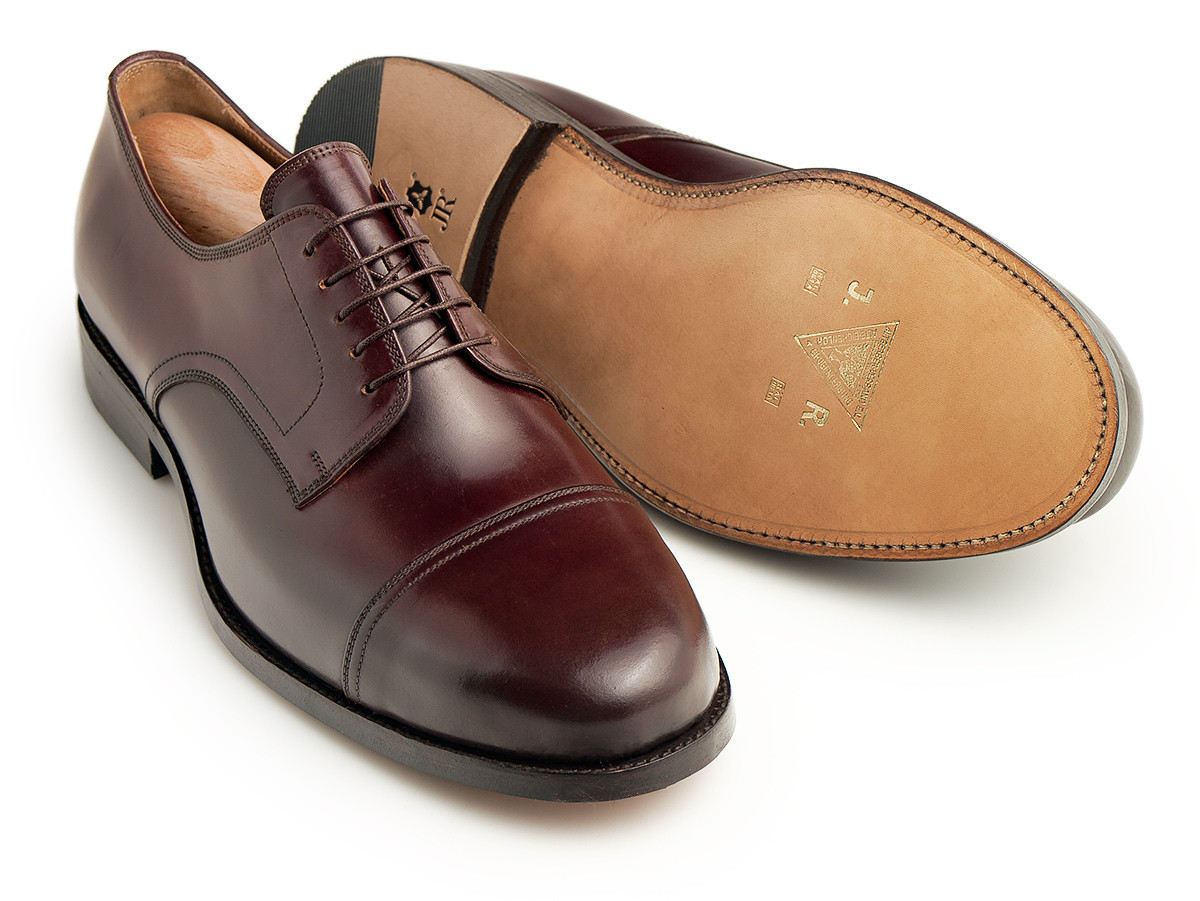 Straight Tip Derby, Cordovan Oxblood #8