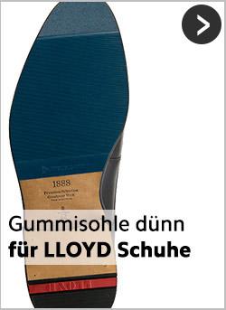 Bunte Dünne Gummisohlen für LLOYD-Schuhe