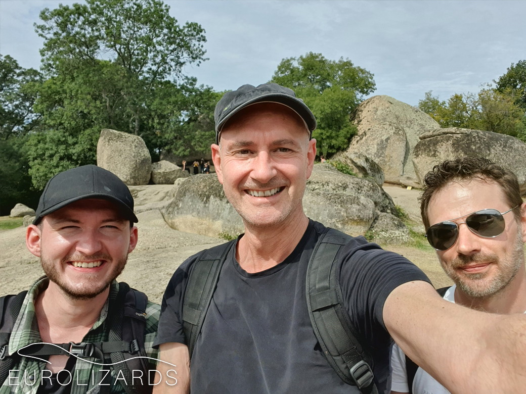Team Bulgaria: Niklas, Peter, Sebastian