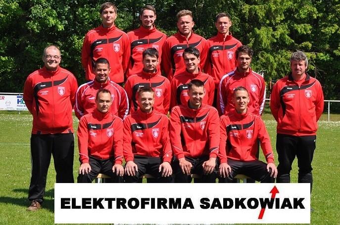 Die Männermannschaft der SG Wöpkendorf 2012/2013