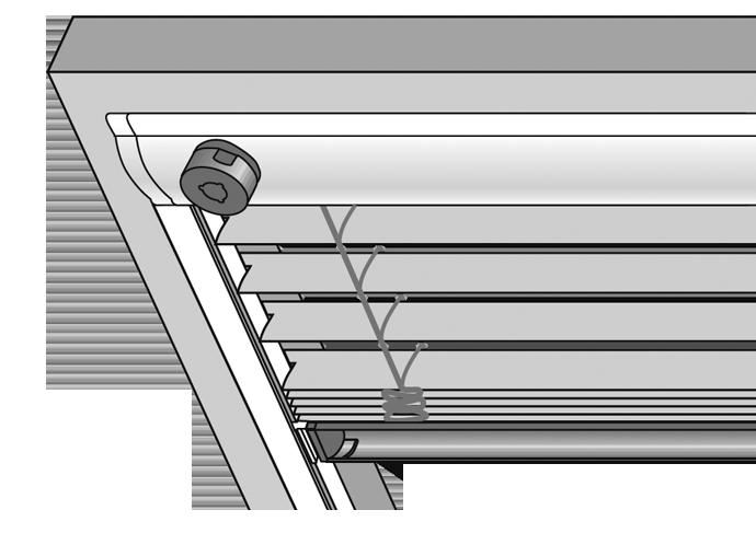 Jalousie für Dachfenster, Dachfensterjalousie
