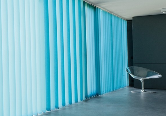 Lamellenvorhang blau-türkis, mhz