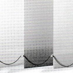 Lamellen mit Verbindungskette aus Edelstahl