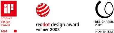 Flächenvorhänge von Lamellen Junker mit vielen Designpreisen, Design Award winner Flächenvorhang von Interstil
