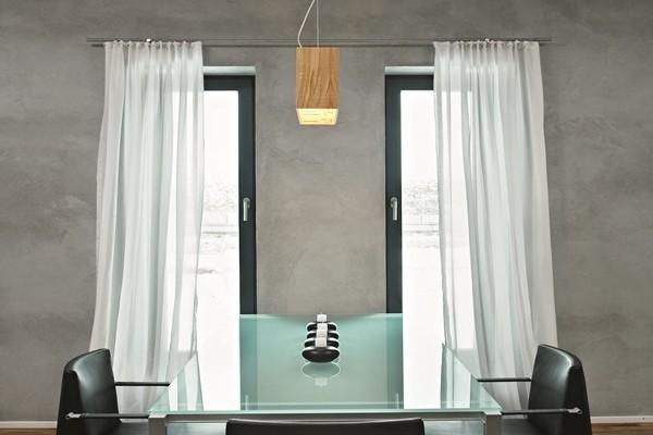 Zarte Vorhangstoffe für puristischen Wohnstil, mhz