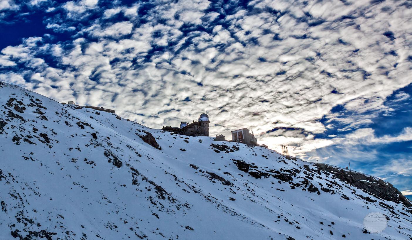 """Bild: Blick auf den Gornegrat mit dem Kulm-Hotel, Zermatt, """"kulm"""", www.2u-pictureworld.de"""