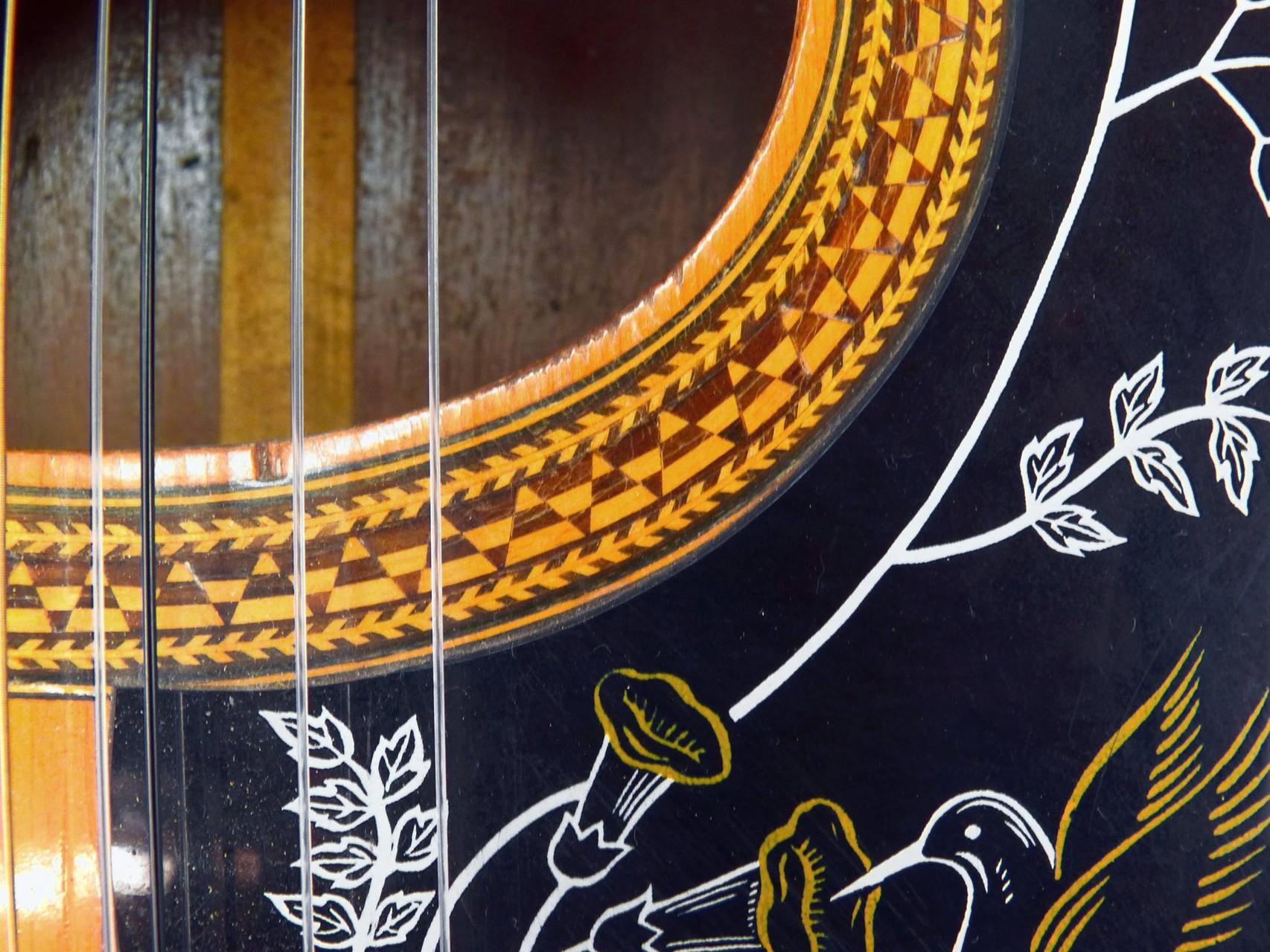 1960 Guitarra de 10 cuerdas