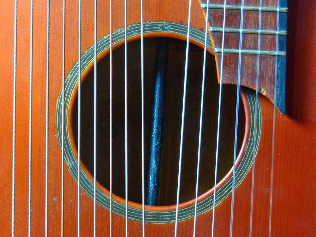 ca. 1900 Guitarra arpa Schrammel