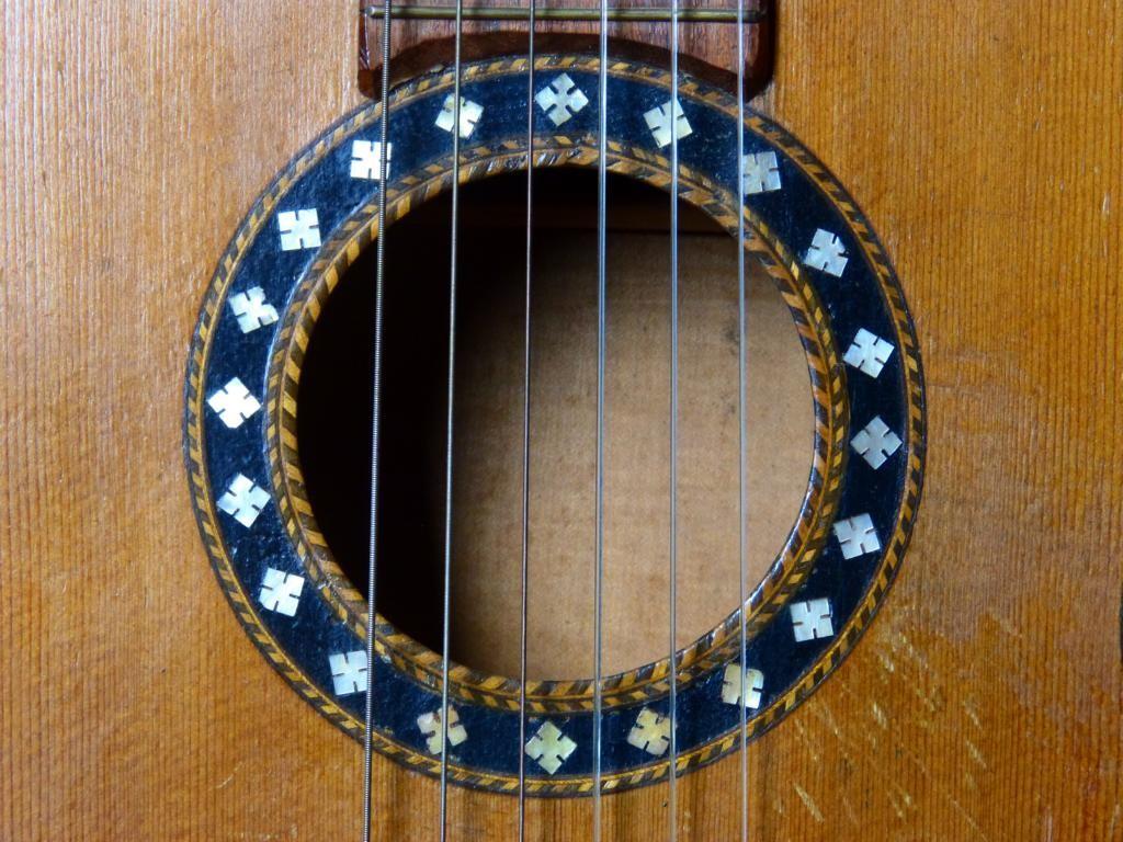 ca. 1940 Guitarra post-romántica