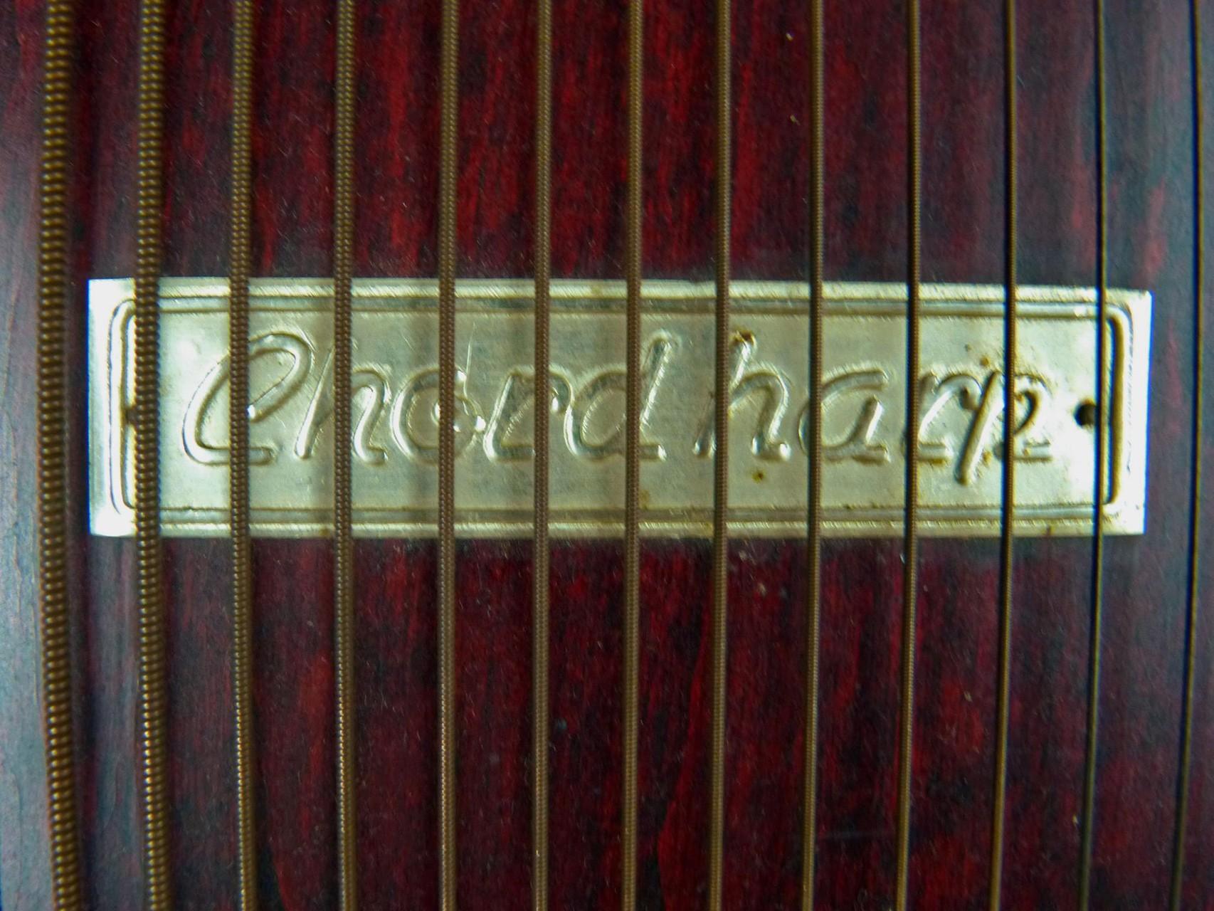 1929 Chord Harp M. J. Dubois