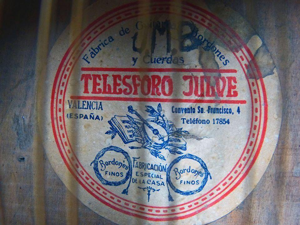1932-1933 Bandurria Telesforo Julve