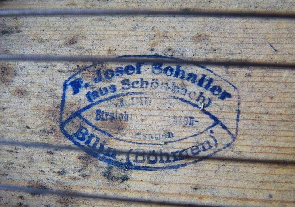 ca. 50  Cítara alpina F. Josef Schaller