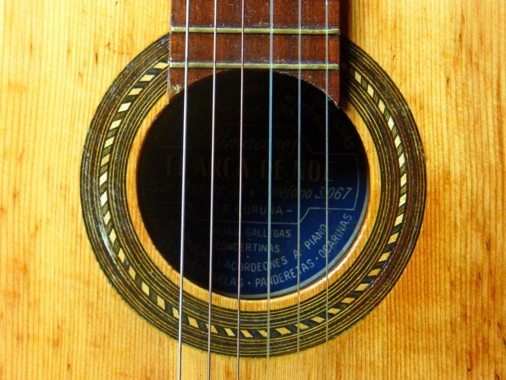 ca. 1940 Guitarra española 3/4