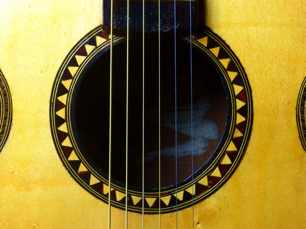 ca. 1980 Guitarra acústica