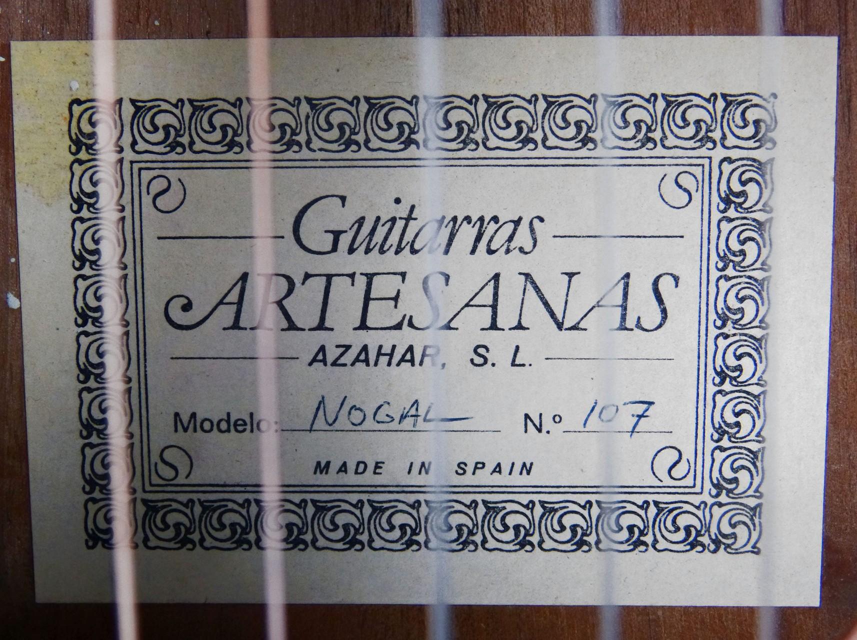 2004 Guitarra Azahar nº 107