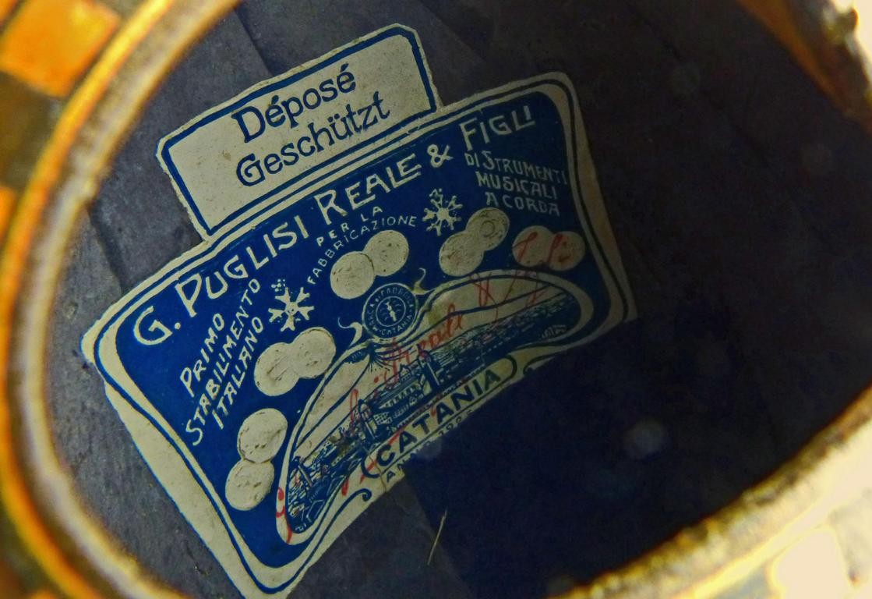 1925 Mandolina Puglisi Reale