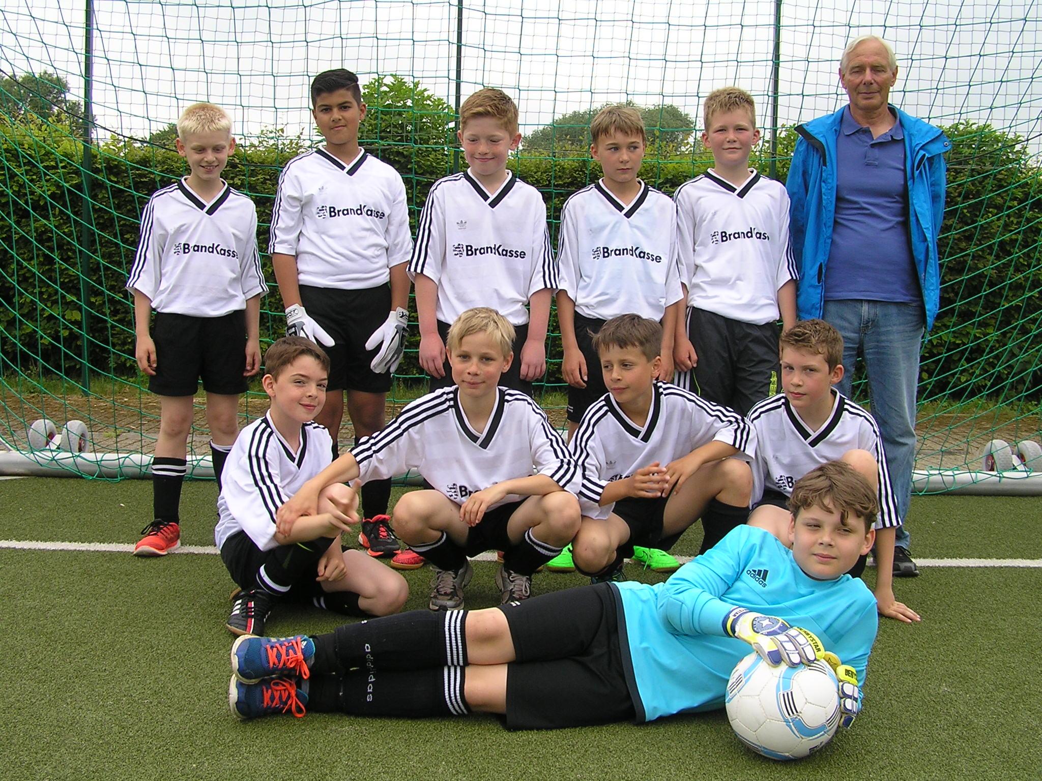 Fußballmannschaft Jungen