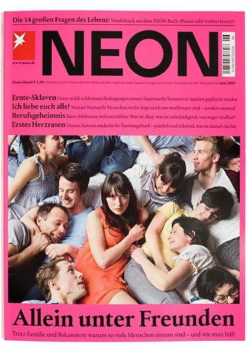 Neon Magazine; Photographer: Norman Konrad