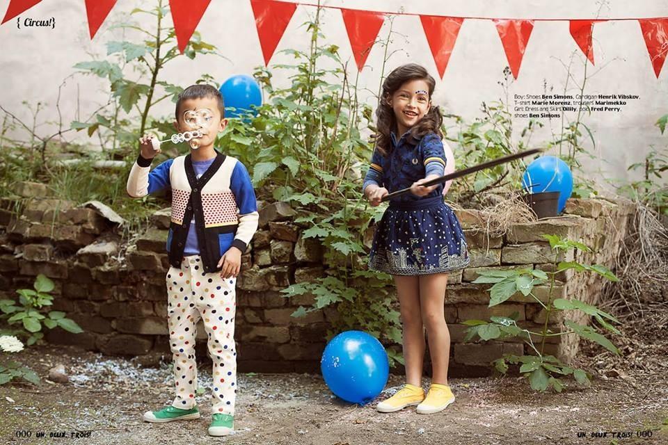UN,DEUX,TROIS! Magazine; Photographer: Jessica Sidenros