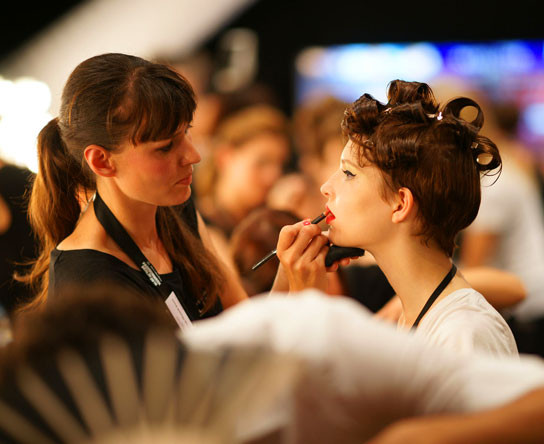 "Buch von Claudius Holzmann "" Backstage- Mercedes Benz Fashion Week Berlin "" , Photographer : Claudius Holzmann"